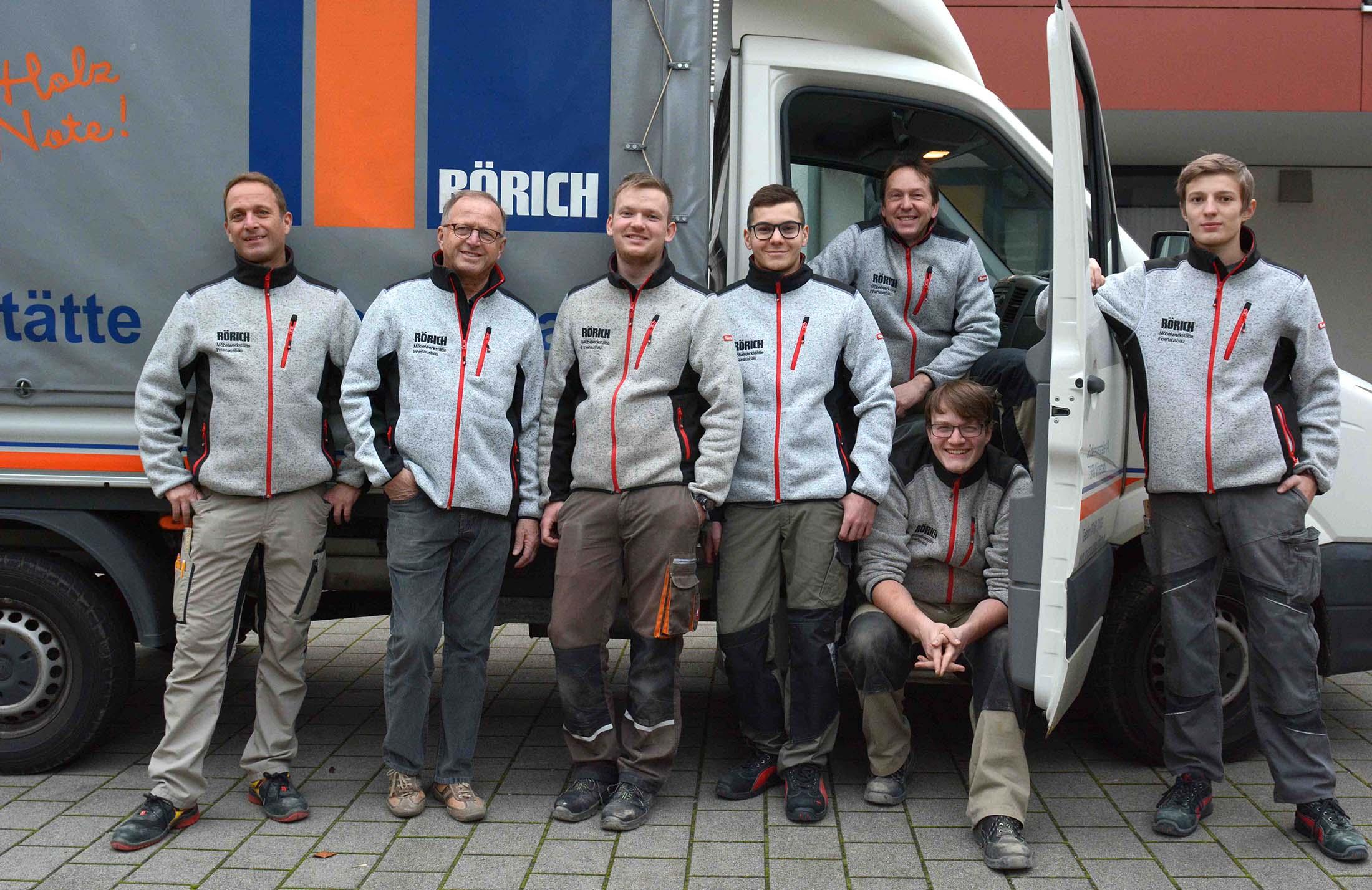 Unser Team - Innenausbau Rörich